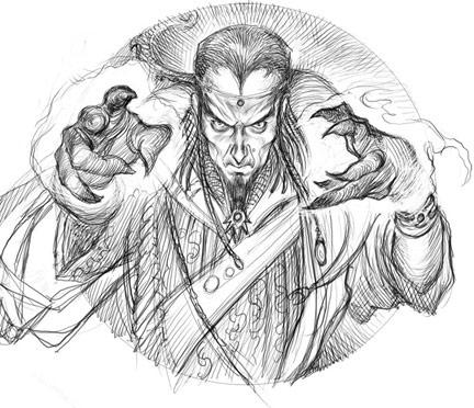 Warlock sketch